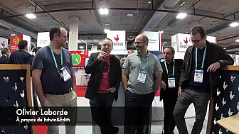 CES 2020 Las Vegas : Olivier Laborde nous parle de la startup Edwin&Edith #CES2020 de #LasVegas @jblefevre60 @Ym78200 @pierrepinna @ipfconline1 @labordeolivier @tewoz @PironTristan @MichaGUERIN @EdwinEdith2