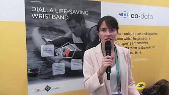 CES 2020 Las Vegas :  Le Groupe La Poste avec Clara, co-fondatrice d'@ido_data , une des #Startups #FrenchIoT présente avec nous au#CES2020  @VanessaChocteau @Vpagnon @Clara_Schtt @MichaGUERIN